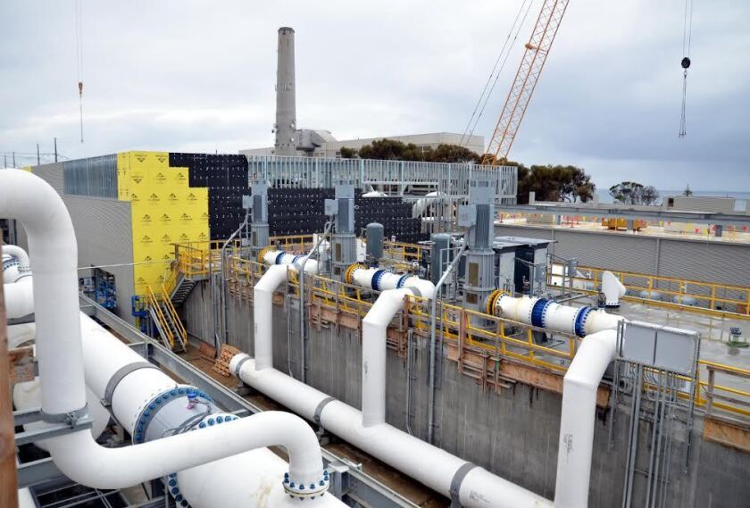 The Poseidon desalination facility in Carlsbad is nearly complete. The company is looking to build a similar plant in Huntington Beach.