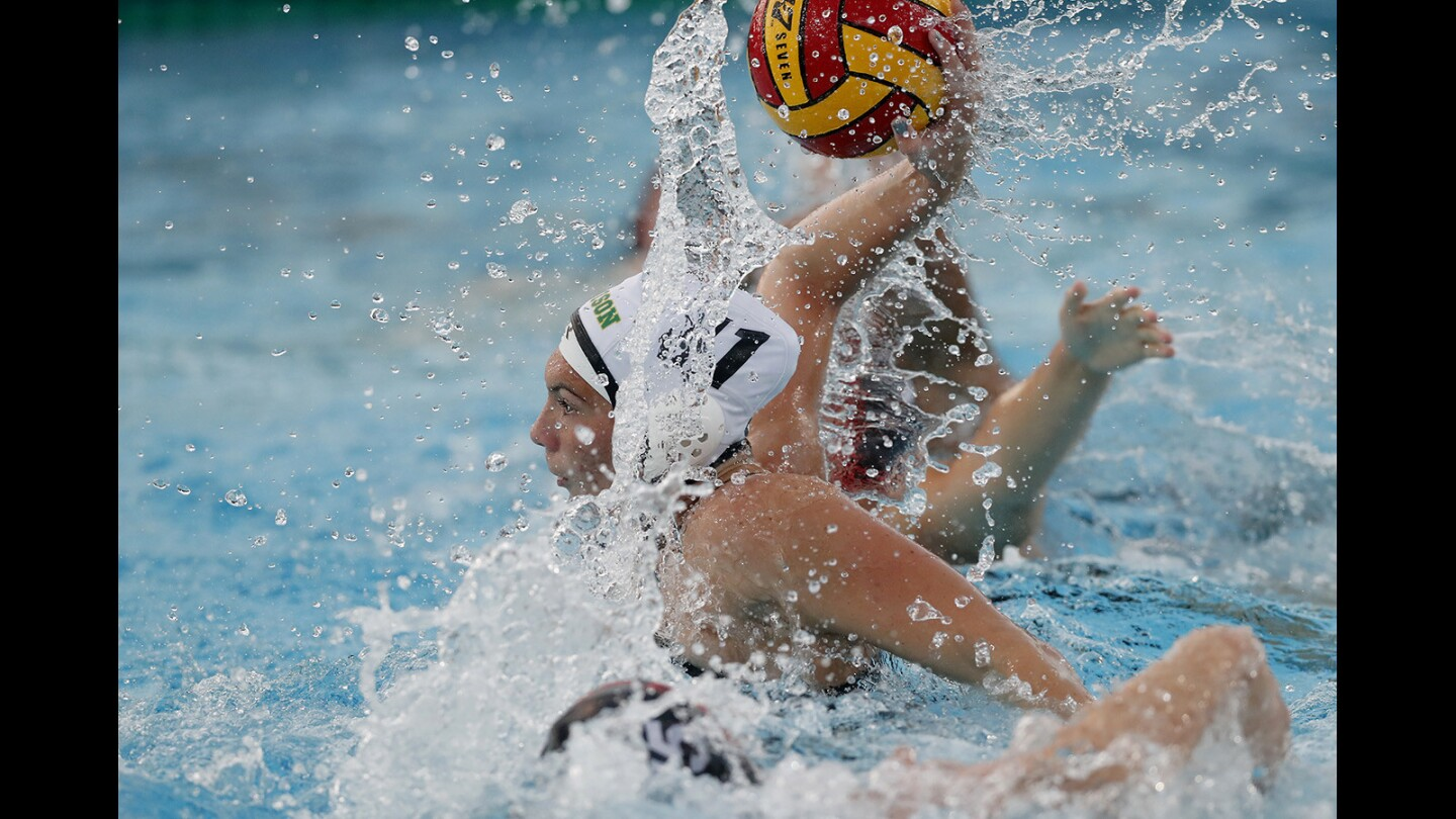 Photo Gallery: Edison vs. Troy in girls' water polo