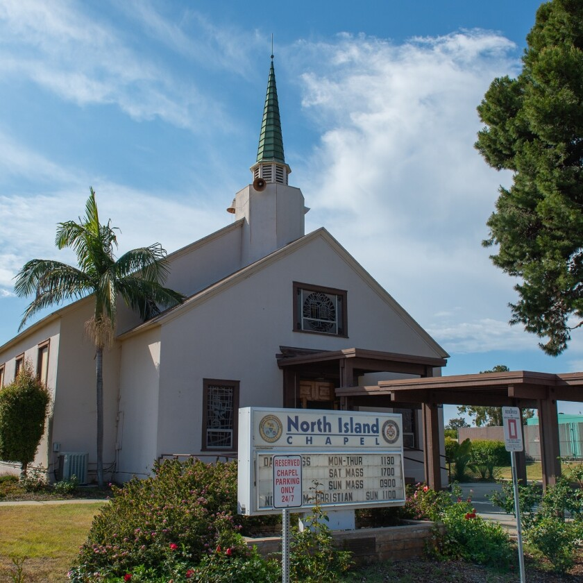 The chapel on Naval Air Station North Island