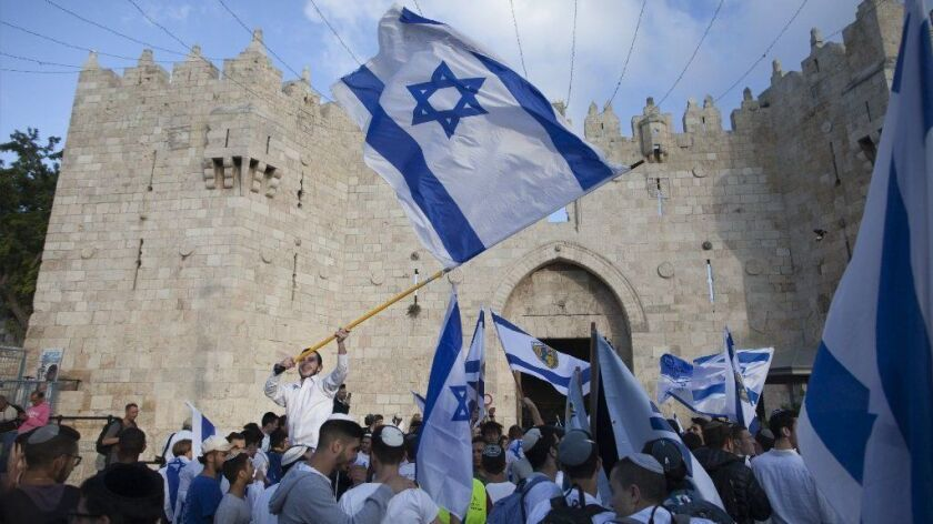 Israeli flag March Takes Place During Jerusalem Day