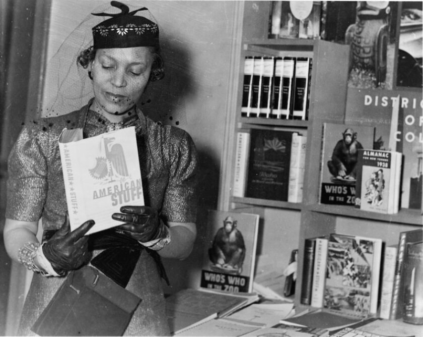 Zora Neale Hurston, one of the beneficiaries and stars of the Federal Writers Project.