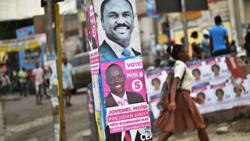 HAITI-VOTE-CAMPAIGN