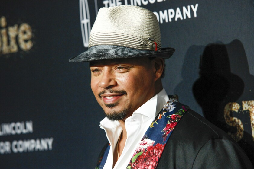 """Actor Terrence Howard attends Fox's celebration of the """"Empire"""" and """"Star"""" television shows at One World Observatory in New York September 23, 2017."""