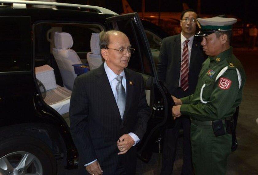 Myanmar President Thein Sein