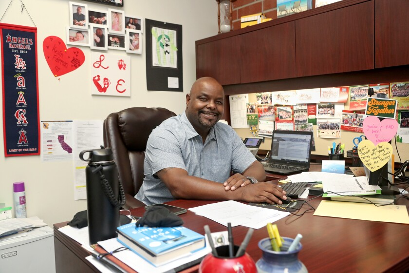 Edison High School Assistant Principal Kevin Fairman