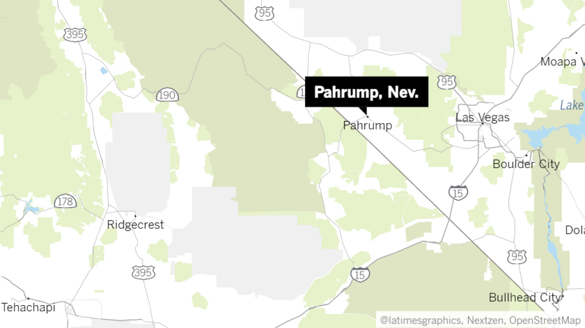 Pahrump map