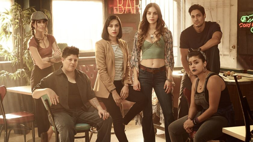 "The Season 1 cast of ""Vida."""