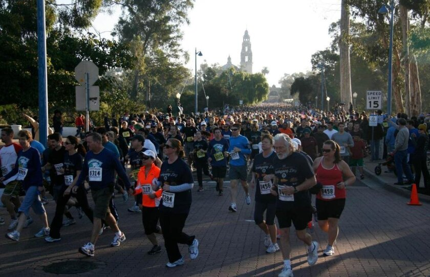 Father Joe's Villages Thanksgiving Day 5K Run and Walk in Balboa Park
