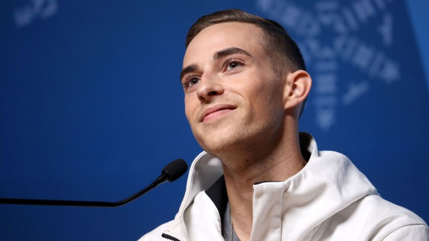United States figure skater Adam Rippon is among 15 openly gay athletes in Pyeongchang, two more than 2010 and 2014 combined.