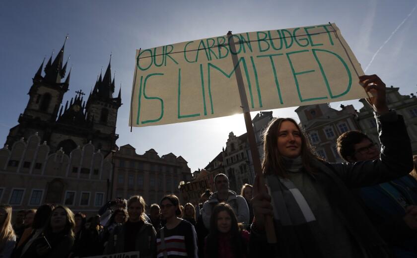 APTOPIX Czech Republic Climate Protests