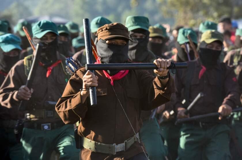 MEXICO-POLITICS-EZLN-ANNIVERSARY