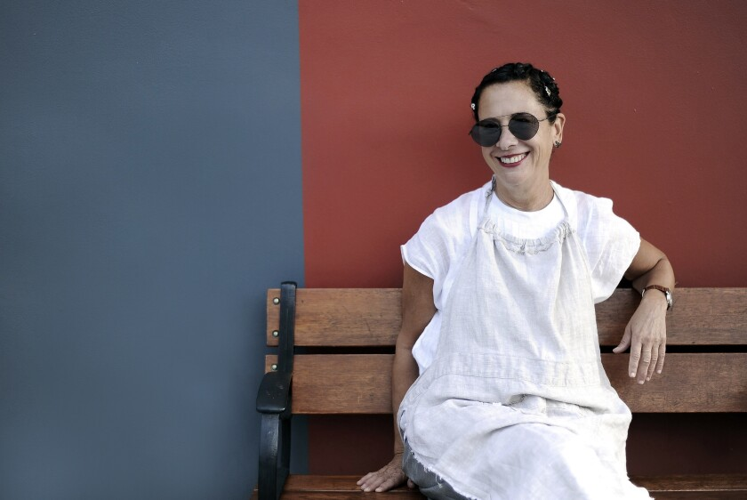 Chef Nancy Silverton, whose restaurants include Osteria Mozza, Pizzeria Mozza, Mozza2Go and Chi Spacca, is hosting a wood-fire dinner series at Chi Spacca.