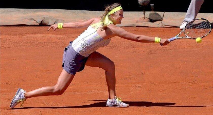 La tenista Victoria Azarenka. EFE/Archivo