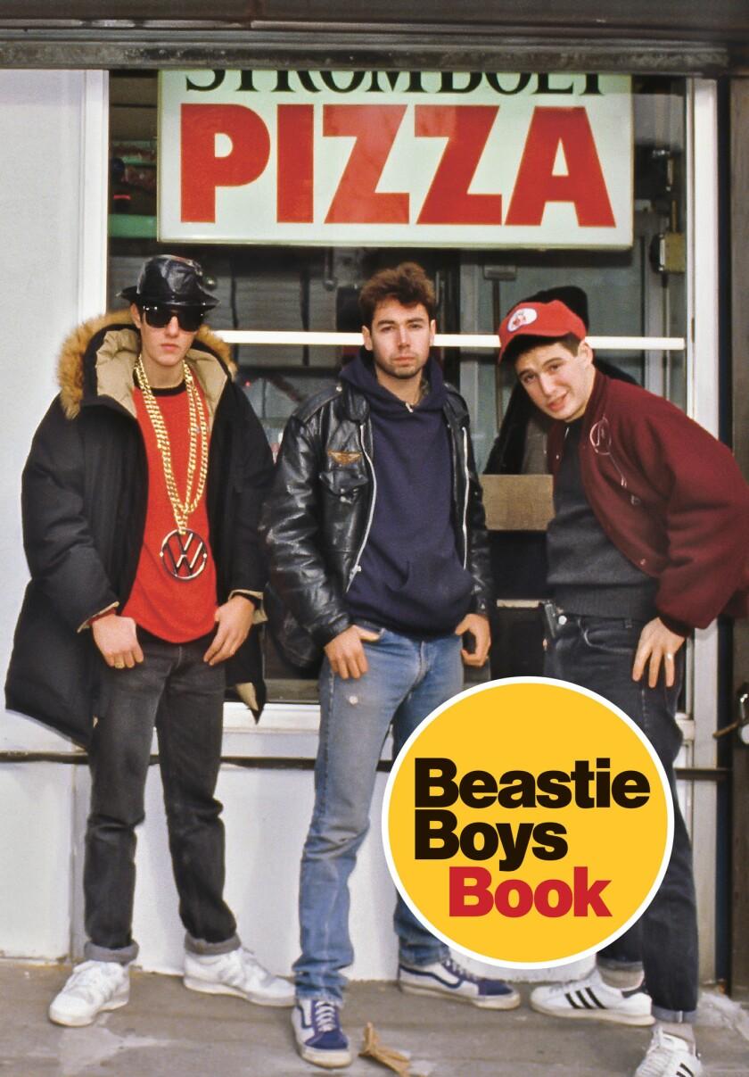 "A book jacket for Michael Diamond and Adam Horovitz's book ""Beastie Boys Book."" Credit: Spiegel & Gr"
