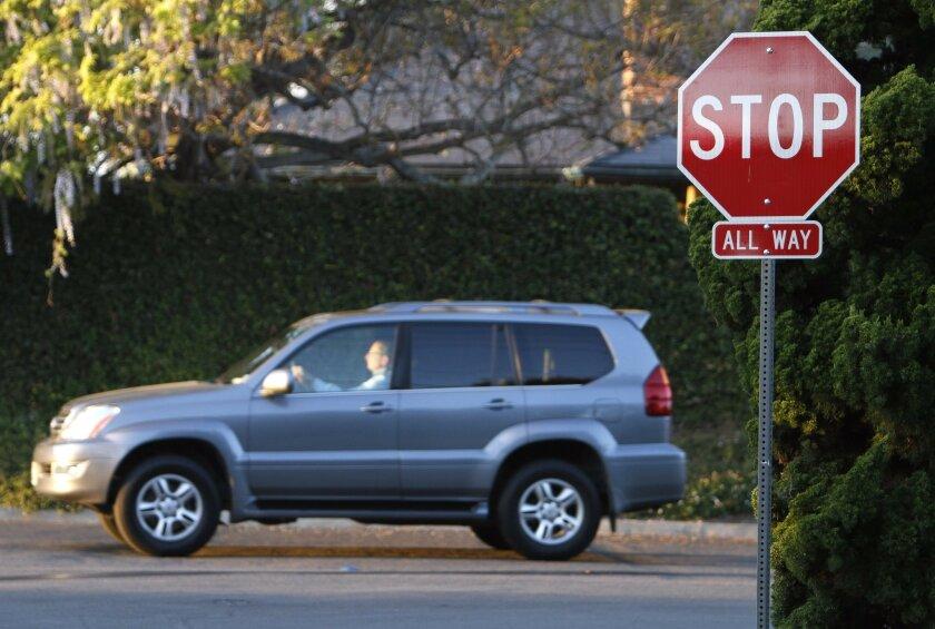 Vigilante stop signs