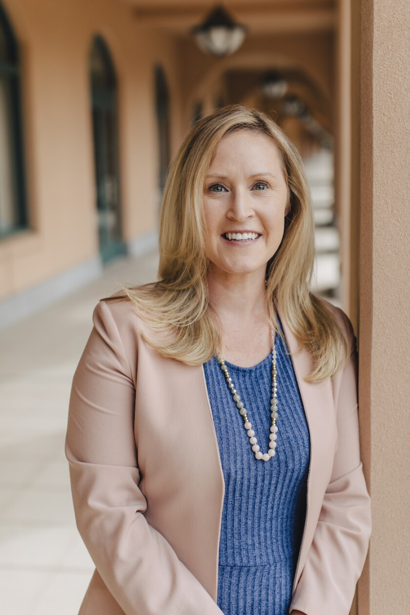 Katherine Johnston is the San Diego Parks Foundation's first executive director.