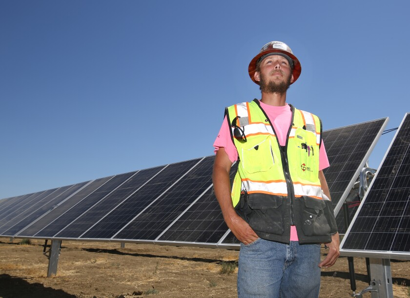 Anthony Romano, once a non-union roofer, is now a foreman for BEI Construction