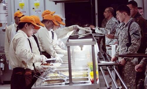 U.S. Troops Prepare For Thanksgiving in Baghdad