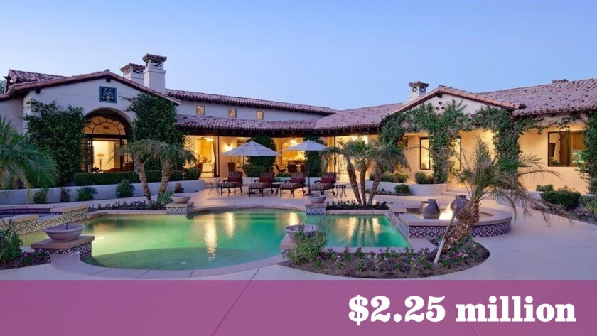 Blizzard Entertainment co-founder Mike Morhaime has paid $2.25 million for a home in Rancho Mirage.