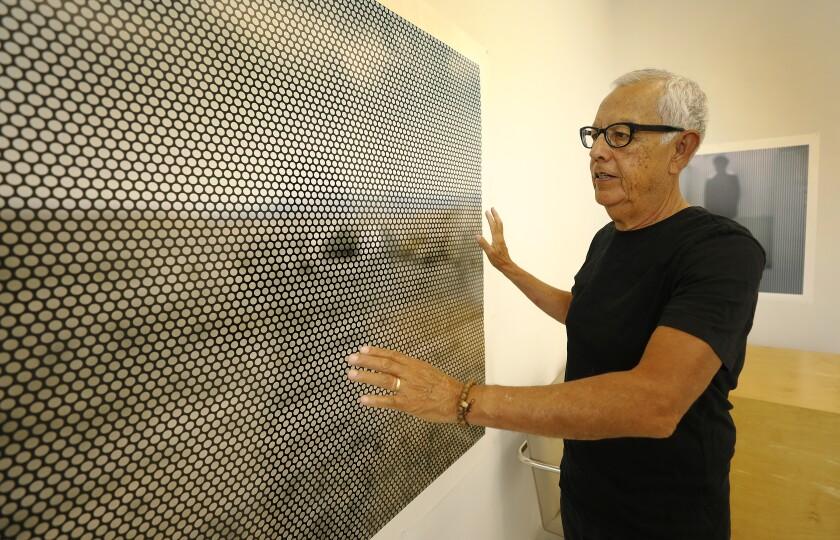 Anthony Hernandez in his Jefferson Park studio.