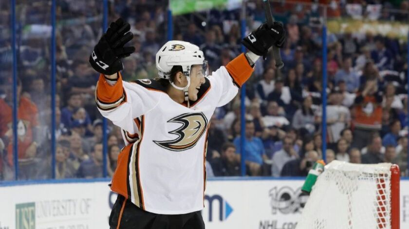 Ducks call up Brandon Montour is soaking it all in