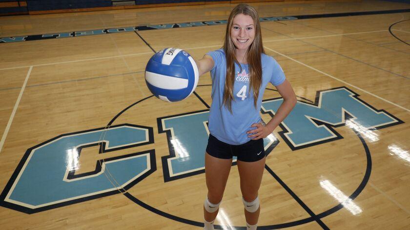 Corona del Mar High senior outside hitter Kendall Kipp is the Daily Pilot High School Female Athlet
