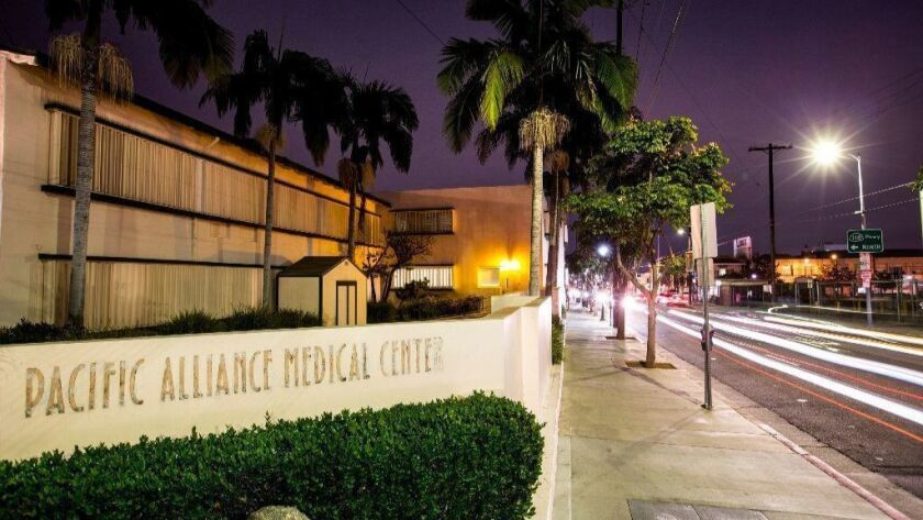 The Pacific Alliance Medical Center, which closed its doors Dec. 11, will reopen as an outpatient clinic.