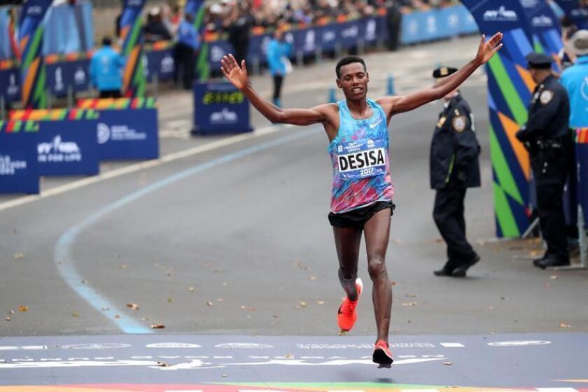 En la imagen, el atleta etíope Lelisa Desisa. EFE/Archivo