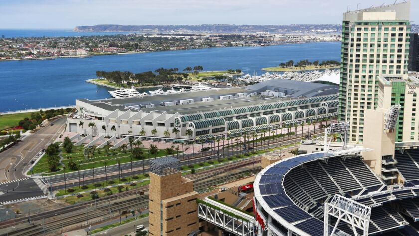 An initiative that would raise San Diego's hotel tax to underwrite an expansion of San Diego's Convention Center has enough signatures to make it onto a future ballot.