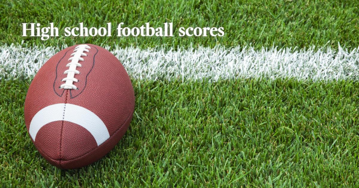 Prep Rally: Friday night's high school football scores