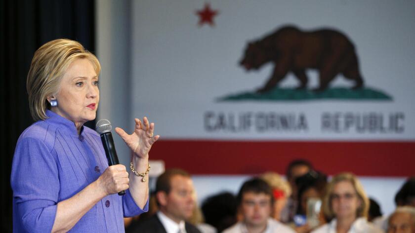 Foto de archivo. Hillary Clinton gana en Puerto Rico.