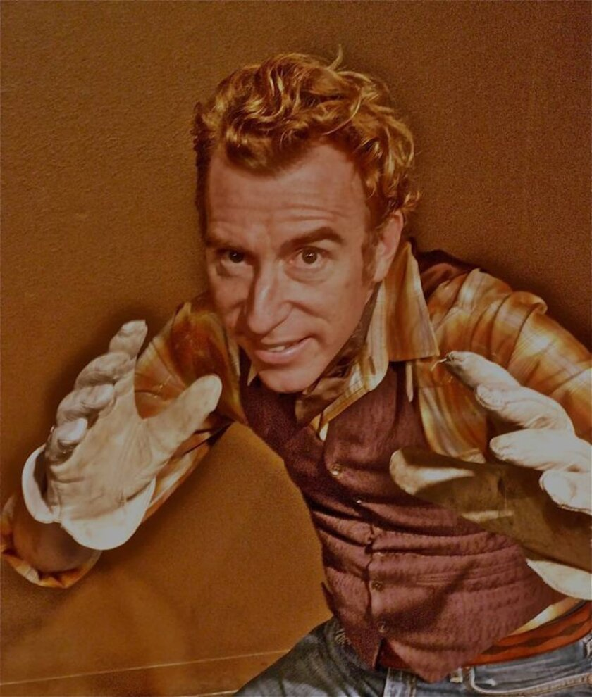 """Stephen Kearin will do who-knows-what at Monday's performance of """"The Western UnScripted."""""""