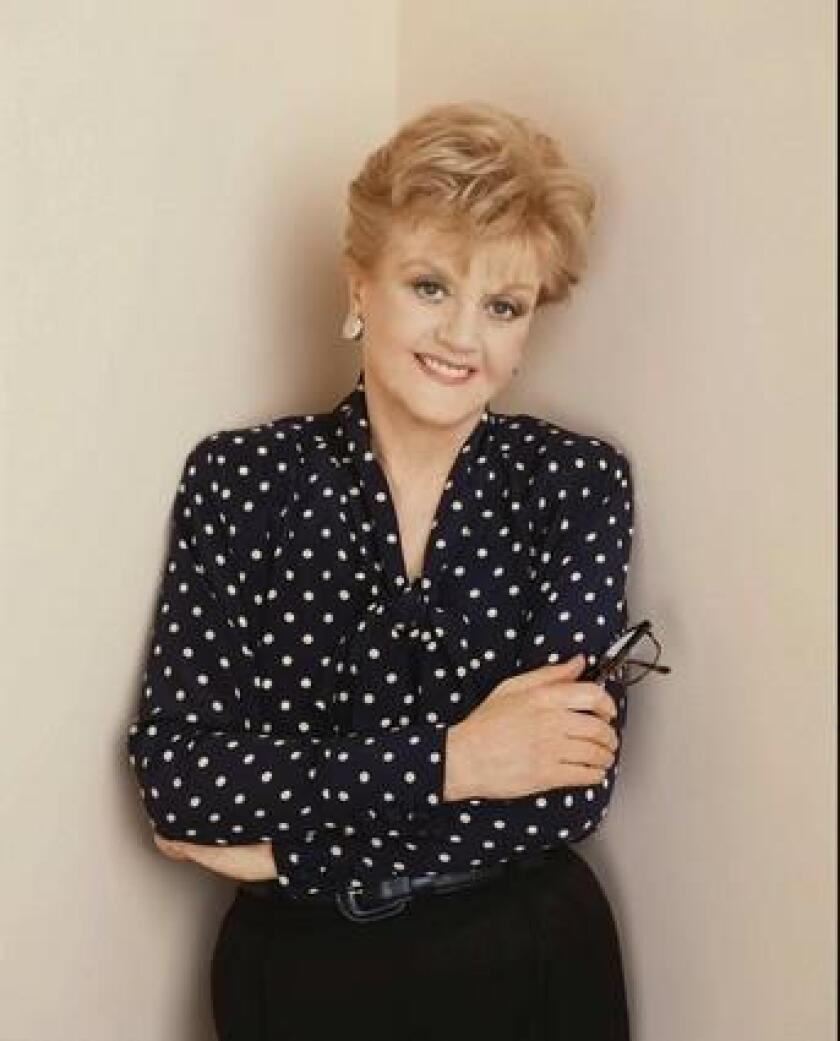"""Angela Lansbury starred in """"Murder, She Wrote"""" for over a decade."""