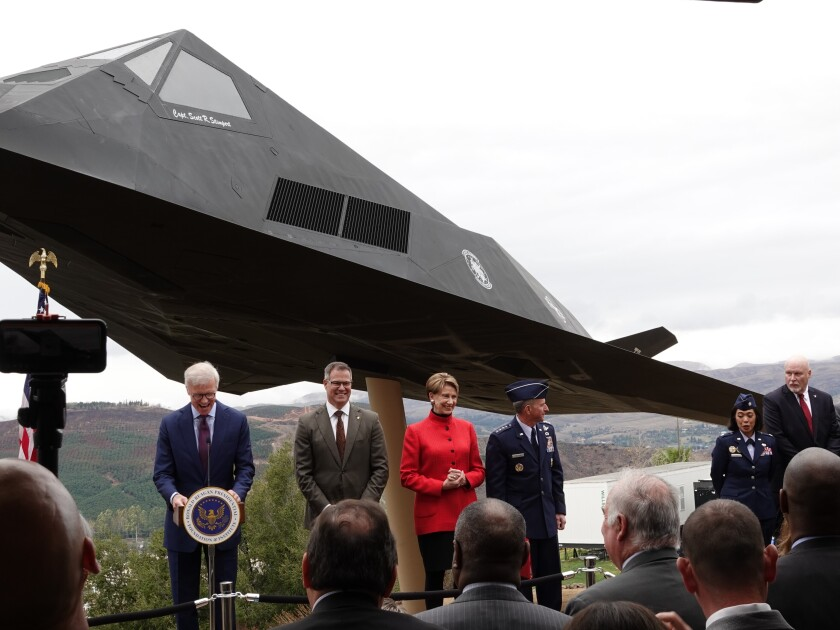 Stealth Fighter-Reagan Library