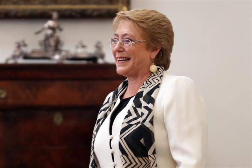 La expresidenta de Chile, Michelle Bachelet. EFE/Archivo