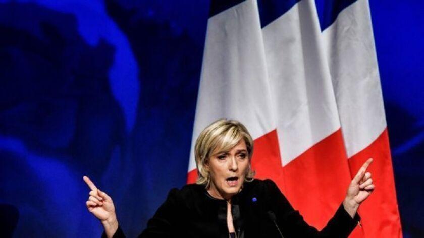 Marine Le Pen tiene ahora la posibilidad de ganar la presidencia de Francia.