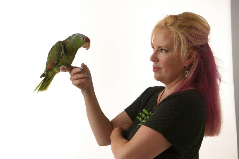 Brooke Durham of SoCal Parrot
