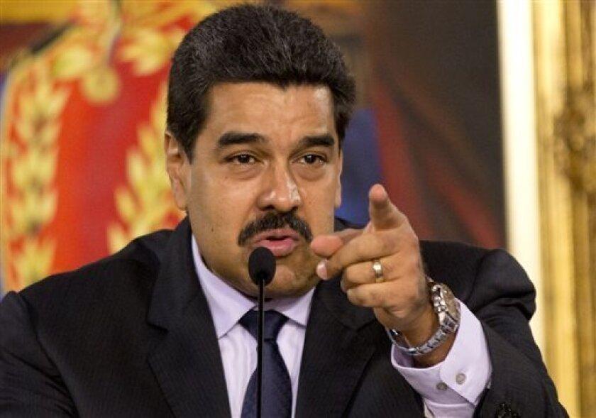 El presidente venezolano Nicolás Maduro enfrentará una de las protestas más grandes en los últimos tiempos.