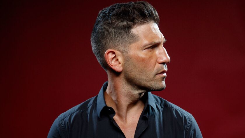 "Actor Jon Bernthal, from the television series ""Marvel's the Punisher,"" photographed in the L.A. Times photo studio at Comic-Con 2017 in San Diego."