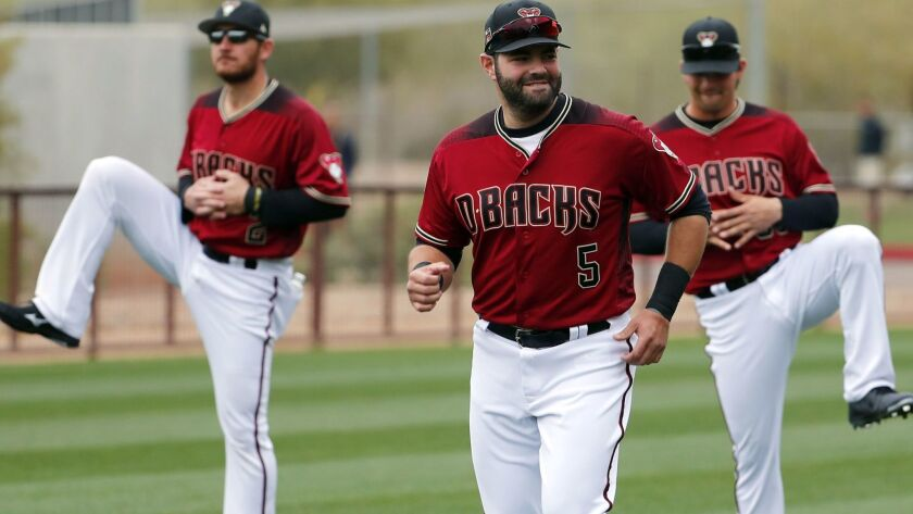 MLB: Arizona Diamondbacks-Workout