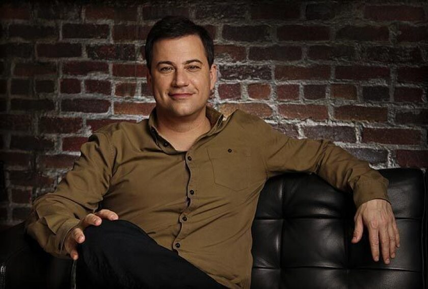 ABC moves Jimmy Kimmel to compete directly with Jay Leno, David Letterman