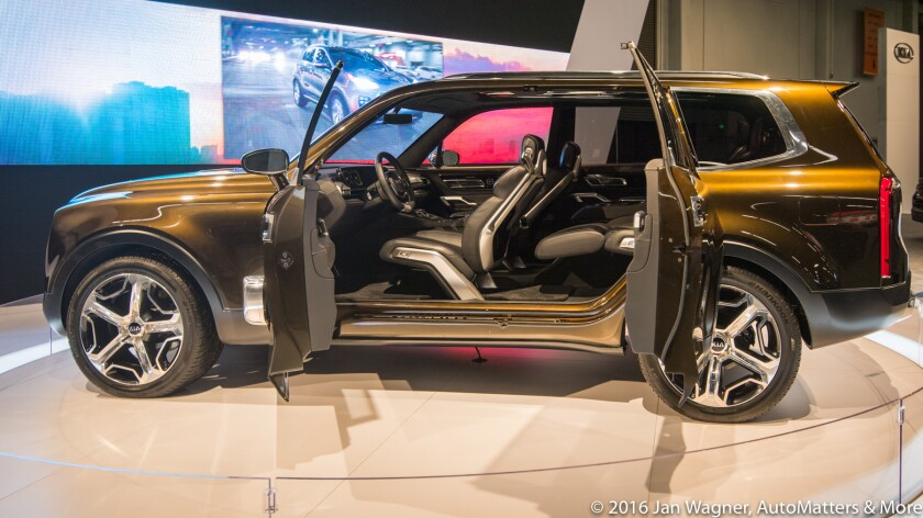 Kia Telluride concept vehicle