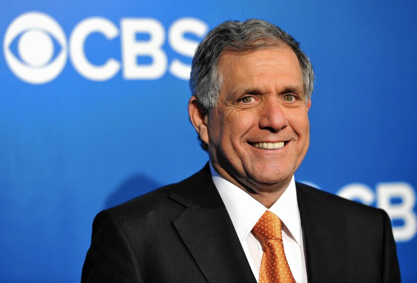 CBS Chief Executive Leslie Moonves says he wants take a closer look at what the government might offer for the company's TV spectrum.