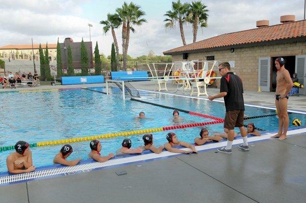 CCA water polo coach rallies the team