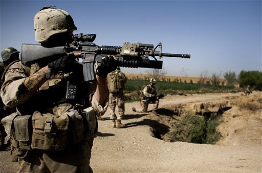 US rifles not suited to warfare in Afghan hills - The San