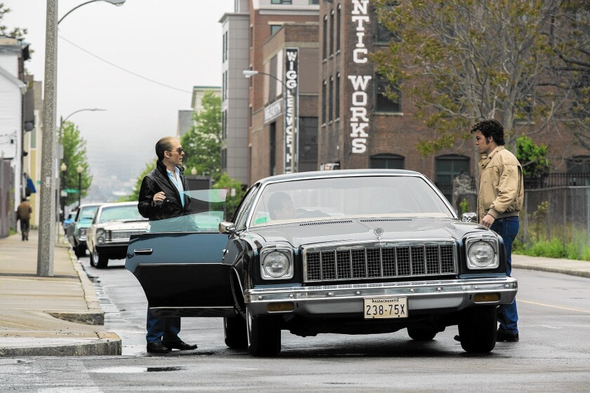 """""""Black Mass"""" looks at the reign of Whitey Bulger in South Boston in the mid-1970s."""