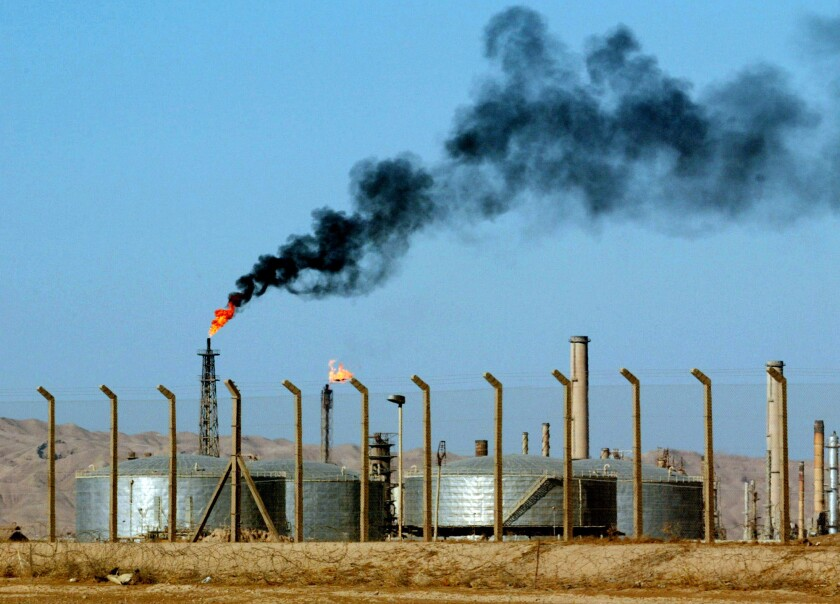 Al-Qaeda-inspired Sunni militants laid siege to Iraq's largest oil refinery, above, in the city of Beiji.