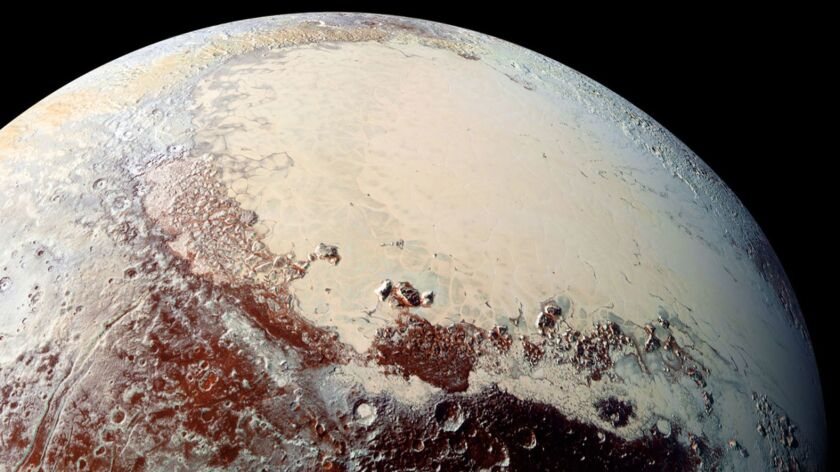 The accumulation of ice in the coldest region of Pluto — the Sputnik Planitia within Pluto's heart-shaped basin — was inevitable, new research indicates.
