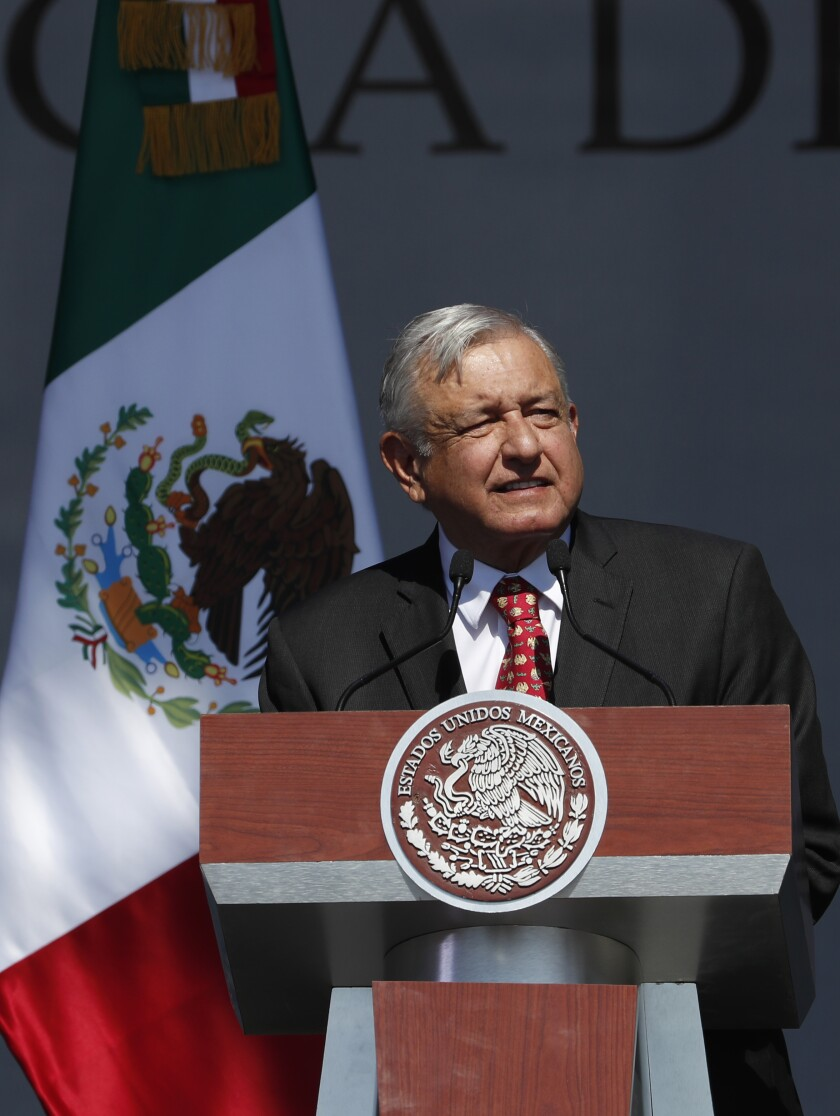 Mexico President One Year Anniversary