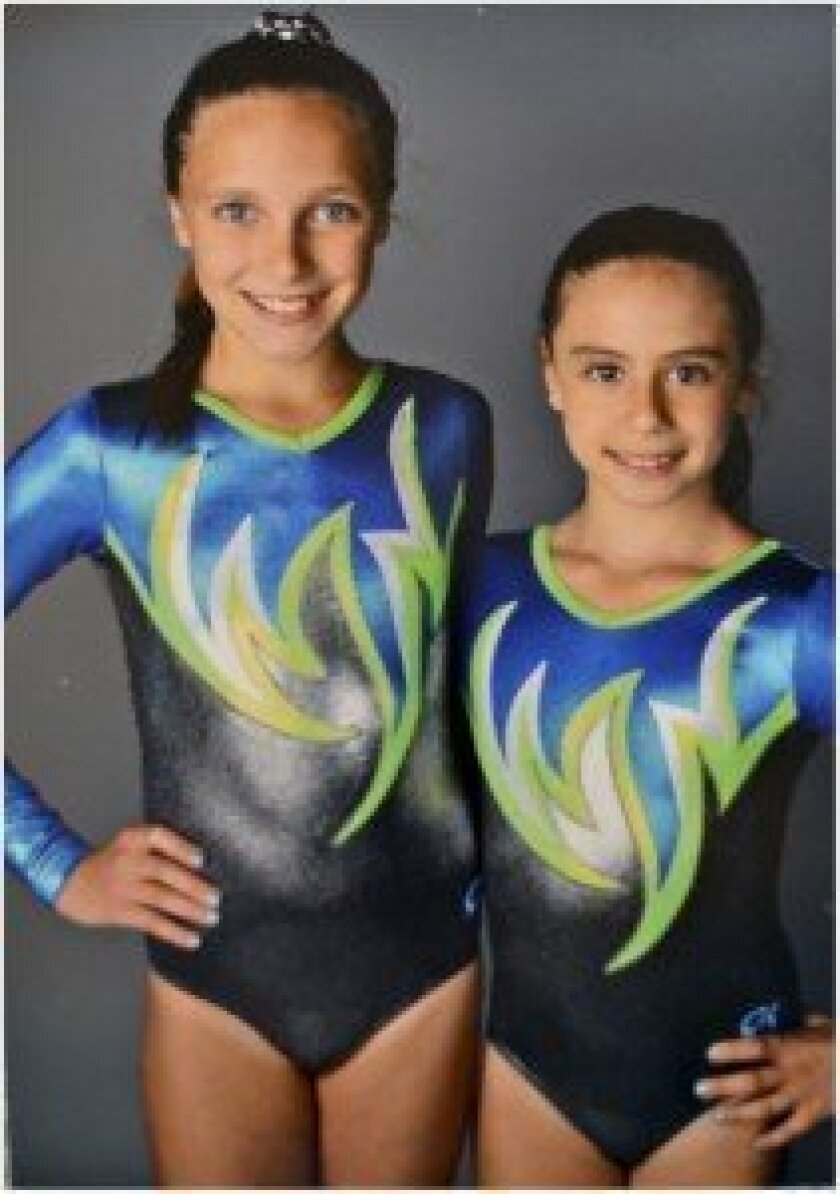 Ava Thorpe and Jenna Shapiro